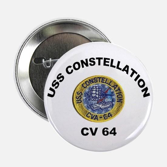"USS Constellation CV-64 2.25"" Button"