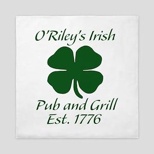 ORileys Irish Pub and Grill Queen Duvet