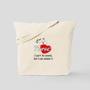 IM A NURSE Tote Bag