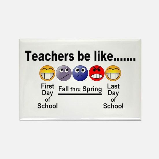 Teachers Be Like Magnets