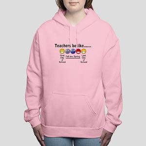 Teachers Be Like Women's Hooded Sweatshirt