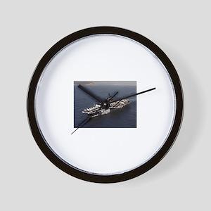 USS Constellation Ship's Image Wall Clock