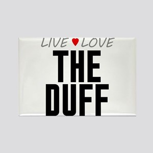 Live Love The Duff Rectangle Magnet