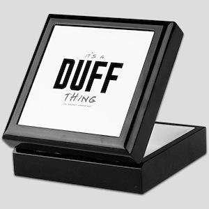 It's a Duff Thing Keepsake Box