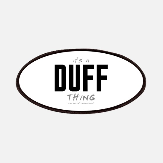 It's a Duff Thing Patches