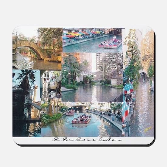 San Antonio Riverwalk-jk Mousepad