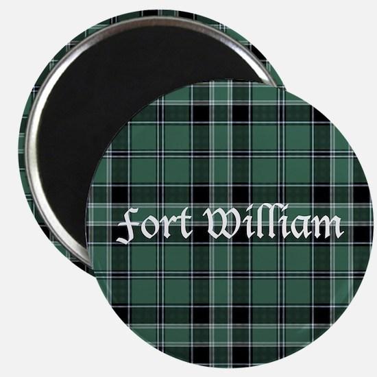 "Tartan - Fort William dist. 2.25"" Magnet (10 pack)"