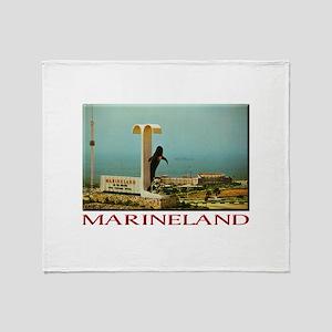 Marineland Throw Blanket
