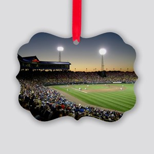Rosenblatt Stadium Sunset Ornament
