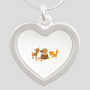 Woodland Animals Necklaces