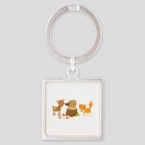 Woodland Animals Keychains