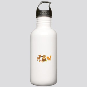 Woodland Animals Water Bottle