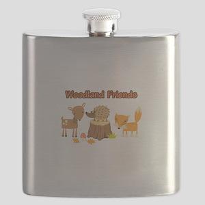 Woodland Friends Flask