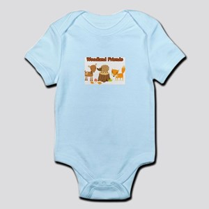 Woodland Friends Body Suit