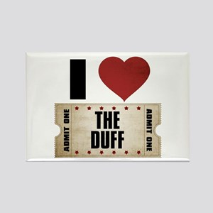 I Heart The Duff Ticket Rectangle Magnet