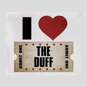 I Heart The Duff Ticket Stadium Blanket