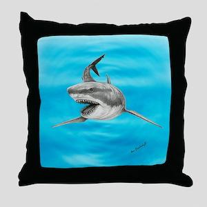 Great White Shark ~ Throw Pillow