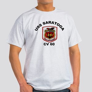 USS Saratoga CV-60 Light T-Shirt