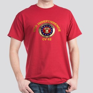 USS Independence CV-62 Dark T-Shirt
