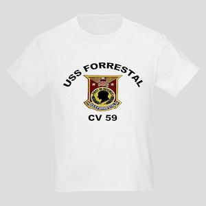 CV-59 Forrestal Kids Light T-Shirt