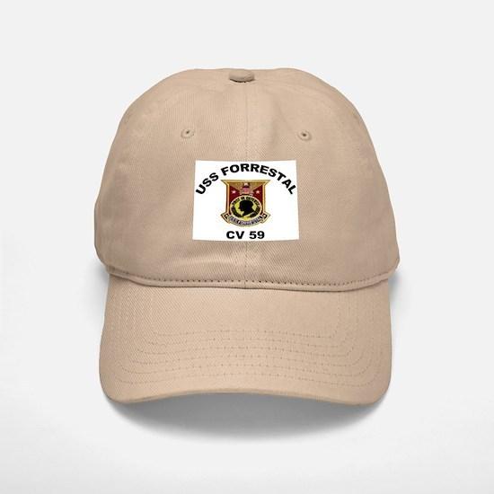 CV-59 Forrestal Baseball Baseball Cap