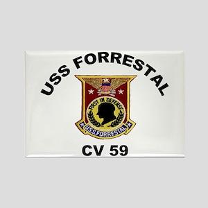 CV-59 Forrestal Rectangle Magnet