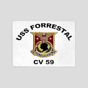 CV-59 Forrestal 5'x7'Area Rug