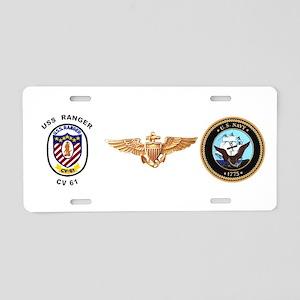 CV-61 Ranger Aluminum License Plate