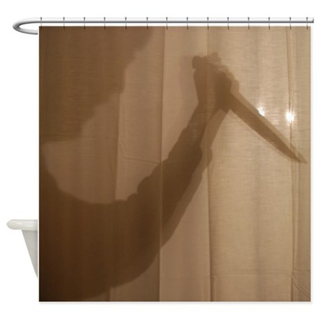 Psycho Shower Curtain By Simpleshopping