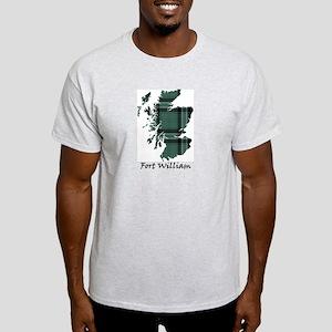 Map - Fort William dist. Light T-Shirt