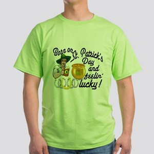 St. Patrick's Day Cowboy Green T-Shirt