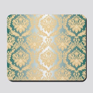 Elegant Damask Design Mousepad
