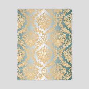 Elegant Damask Design Twin Duvet
