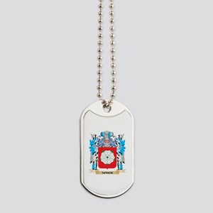 Sobek Coat of Arms - Family Crest Dog Tags
