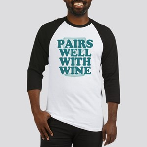 Funny Wine Drinking Humor Baseball Jersey