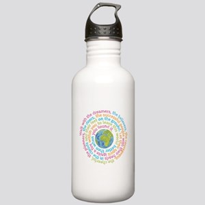 Walk with the dreamers Stainless Water Bottle 1.0L