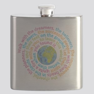 Walk with the dreamers Flask
