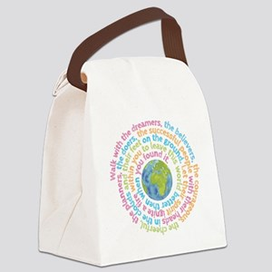 Walk with the dreamers Canvas Lunch Bag