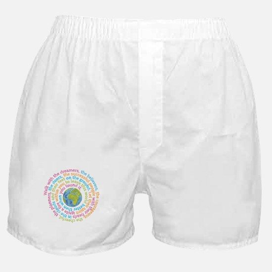 Walk with the dreamers Boxer Shorts