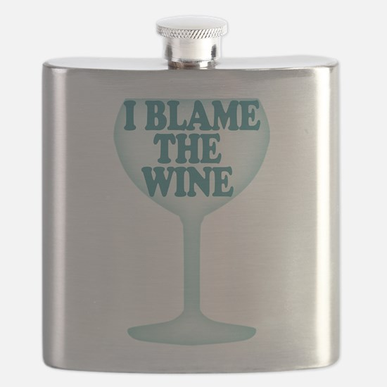 Funny Wine Drinking Humor Flask