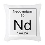 60. Neodymium Woven Throw Pillow