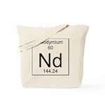 60. Neodymium Tote Bag