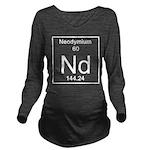 60. Neodymium Long Sleeve Maternity T-Shirt