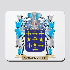 Somerville Coat of Arms - Family Crest Mousepad