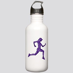 Run Hard Stainless Water Bottle 1.0L