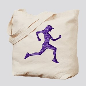 Run Hard Tote Bag