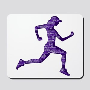 Run Hard Mousepad