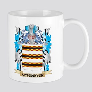 Sotomayor Coat of Arms - Family Crest Mugs