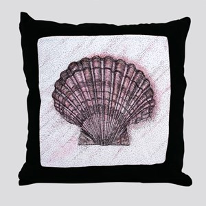 Seashell Throw Pillow