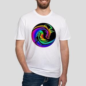 Zen rainbow dragons 11x11 T-Shirt